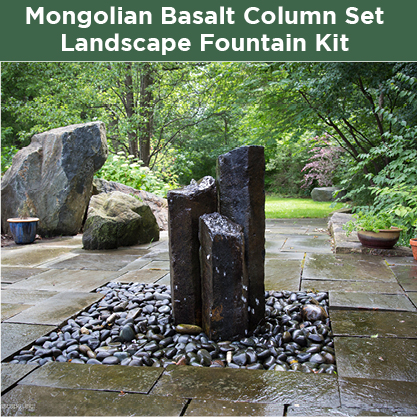 Mongolian-Basalt-Column-Set-Landscape-Fountain-Kit-3