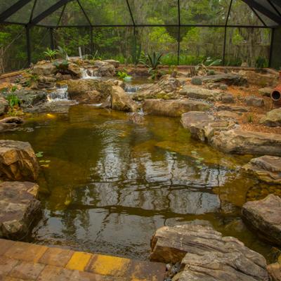 Recreational Swim Pond Construction