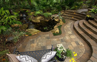 Install and seal your pavers with Earth Works of Jacksonville.