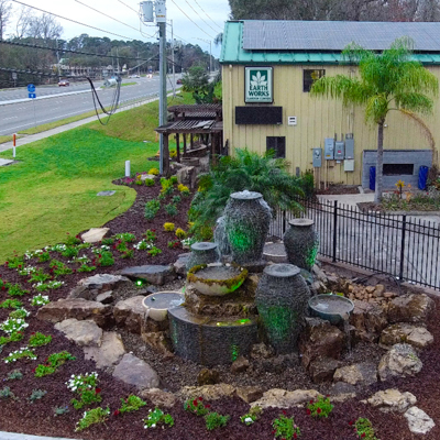 Earthworksjax Pondless Water Features Availble in Northeast Florida