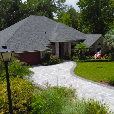 driveway improves curb appeal