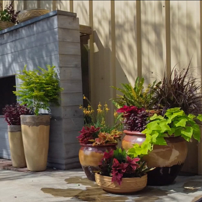 Fall Planter Arrangement